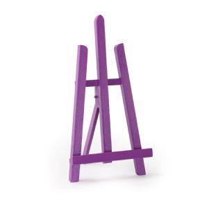 "Violet Colour Easel Essex 16"" - Beech Wood"